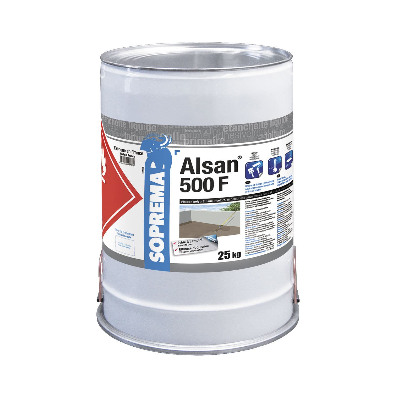 Étanchéité liquide pour toiture-terrasse - ALSAN® 500 F - SOPREMA - en polyuréthane / en résine