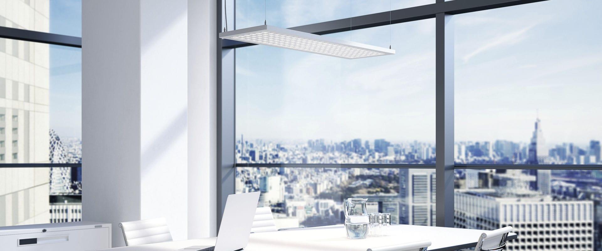 luminaire suspendu  apparent  encastrable au plafond  à