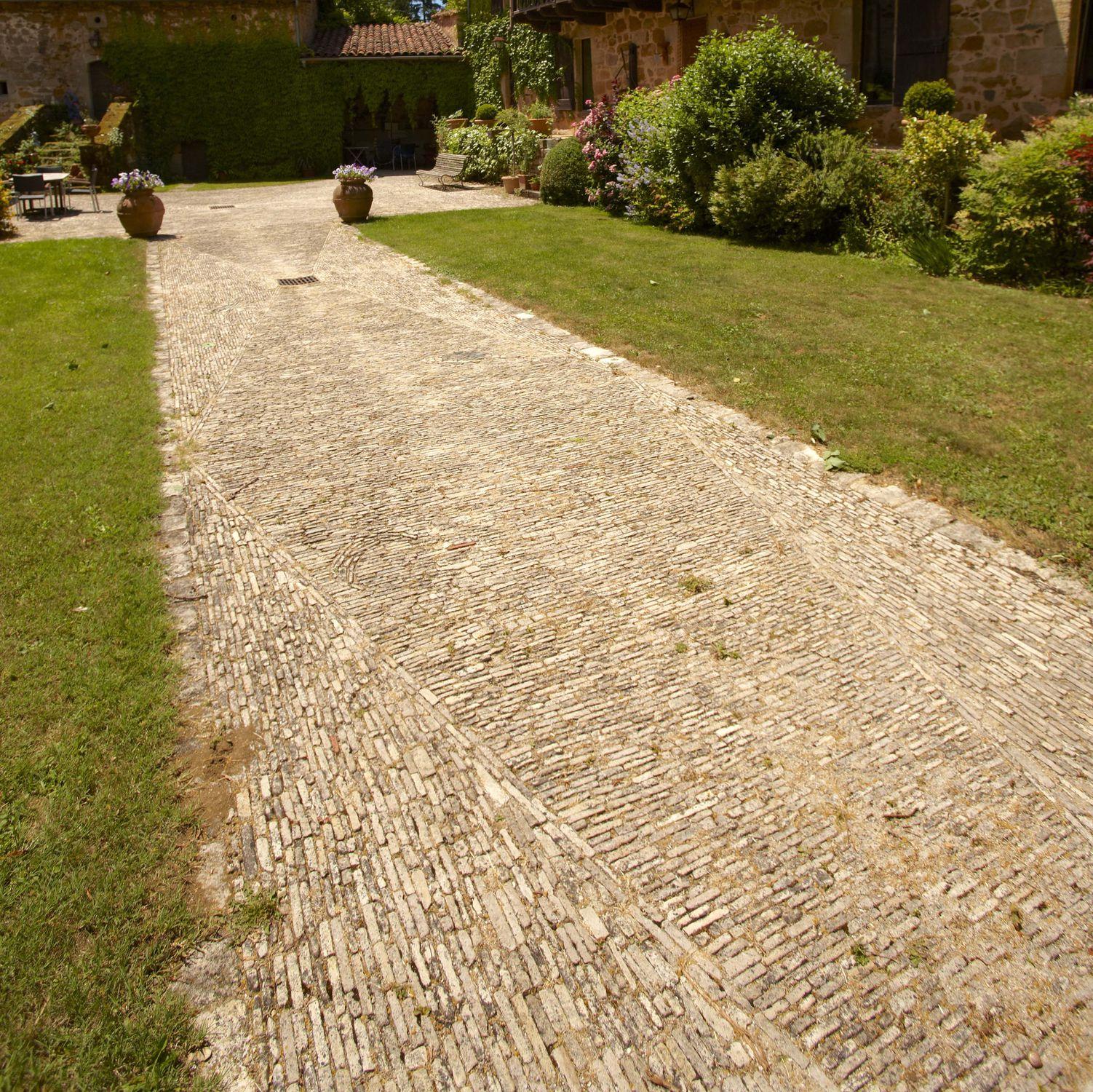 Revetement Pour Allée Carrossable pavé en pierre naturelle / carrossable / d'extérieur - allÉe