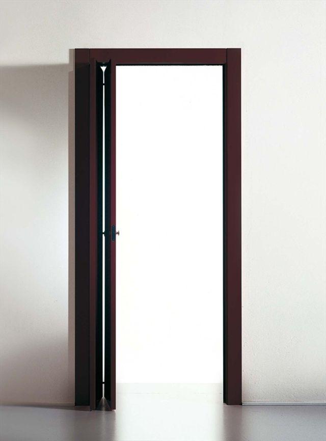 Porte d\'intérieur / pliante / en bois / laquée - LIBRO - TRE ...