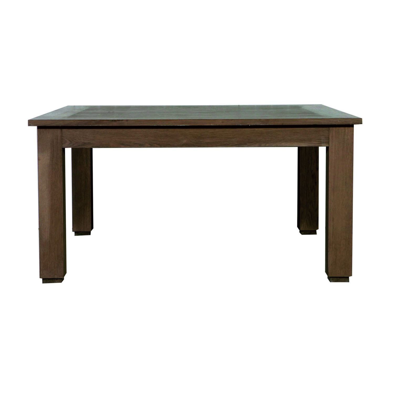 Table A Manger Carree wendune - table à manger classique / en chêne / rectangulaire / carrée flamant home interiors | archiexpo