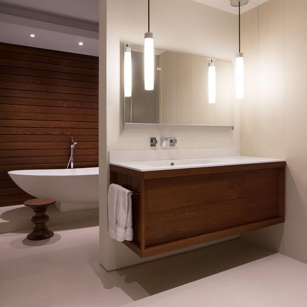 Salle de bain contemporaine / en bois - METROPOLITAN TOWER ...