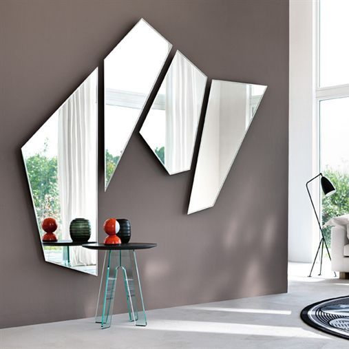 Miroir mural / de salon / suspendu / contemporain - MIRAGE ...