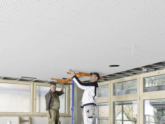 Plafond en plaque de plâtre