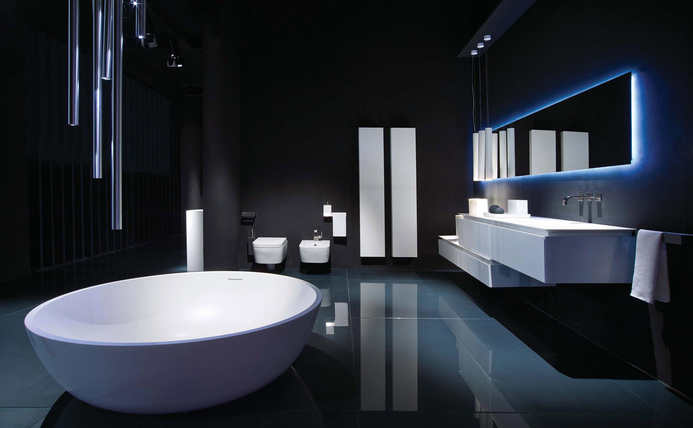 Meuble colonne de salle de bain / contemporain - K.FLY - RI.FRA MOBILI