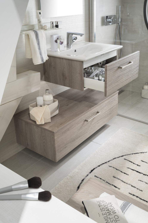 Salle de bain contemporaine / en céramique / en épicéa / sur mesure ...