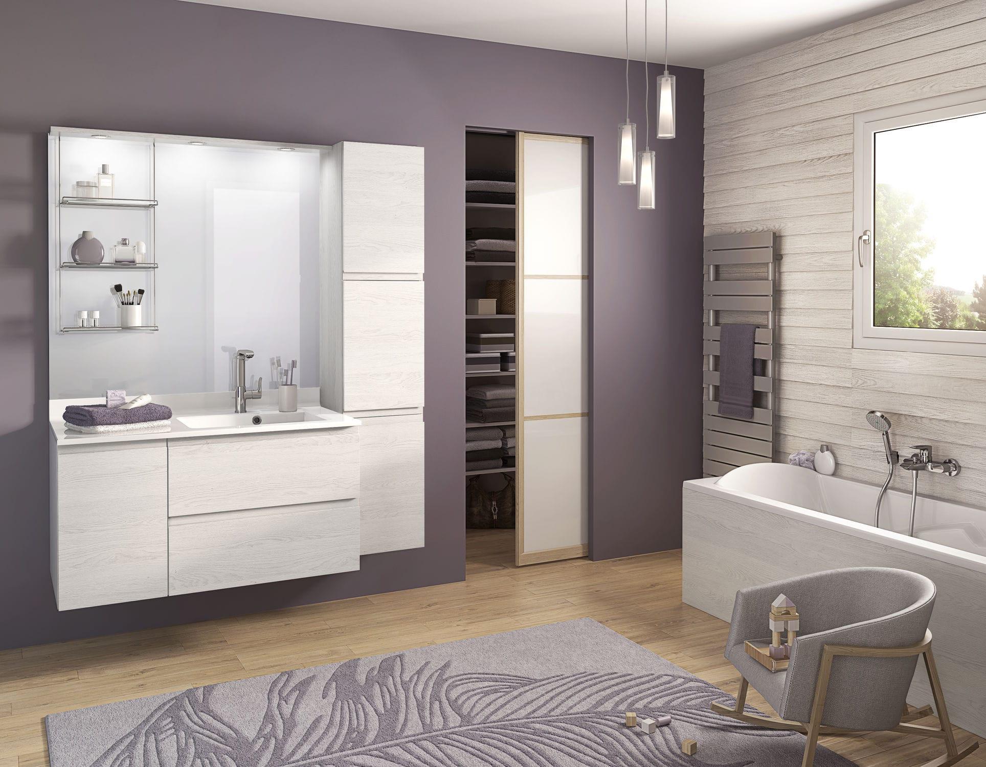 Salle de bain contemporaine / en mélaminé - DELPHY Evolution ...