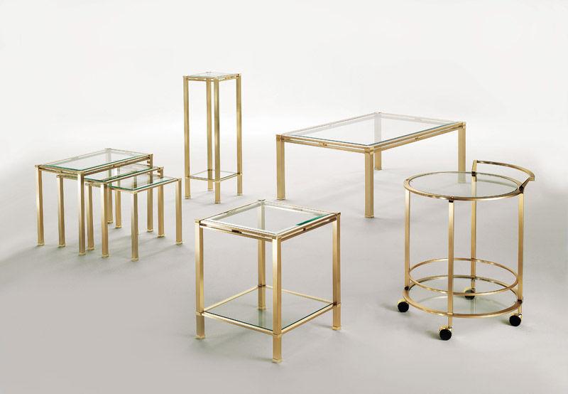 Table Gigogne Classique En Verre D Exterieur Elodea