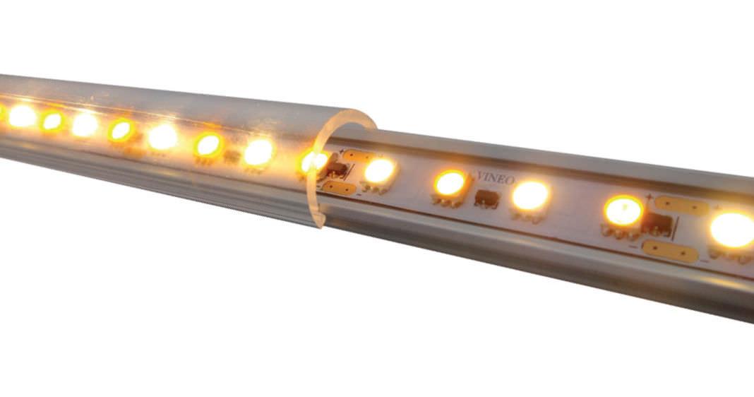 Audacieux Barrette d'éclairage à LED / pour balisage - VINEO - NLX CS-82