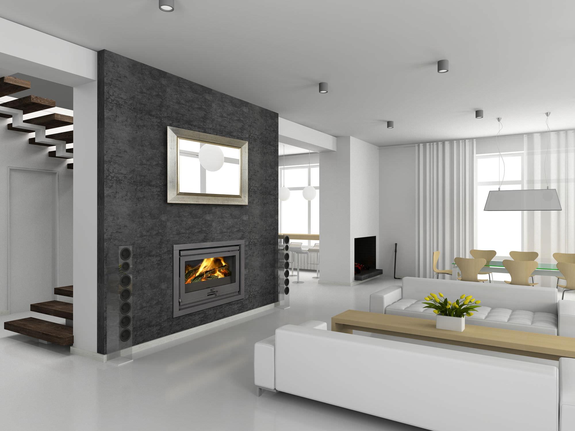 Insert de cheminée à bois - 2220S - DOVRE France
