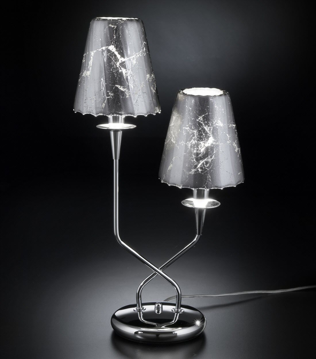 Lampe de table OPERA METAL LUX contemporaine en