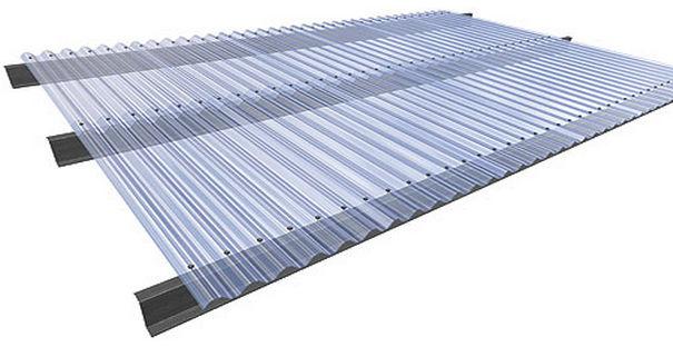 Plaque de toiture en polycarbonate - ARCOPLUS® ONDA - DOTT GALLINA - translucide / ondulé