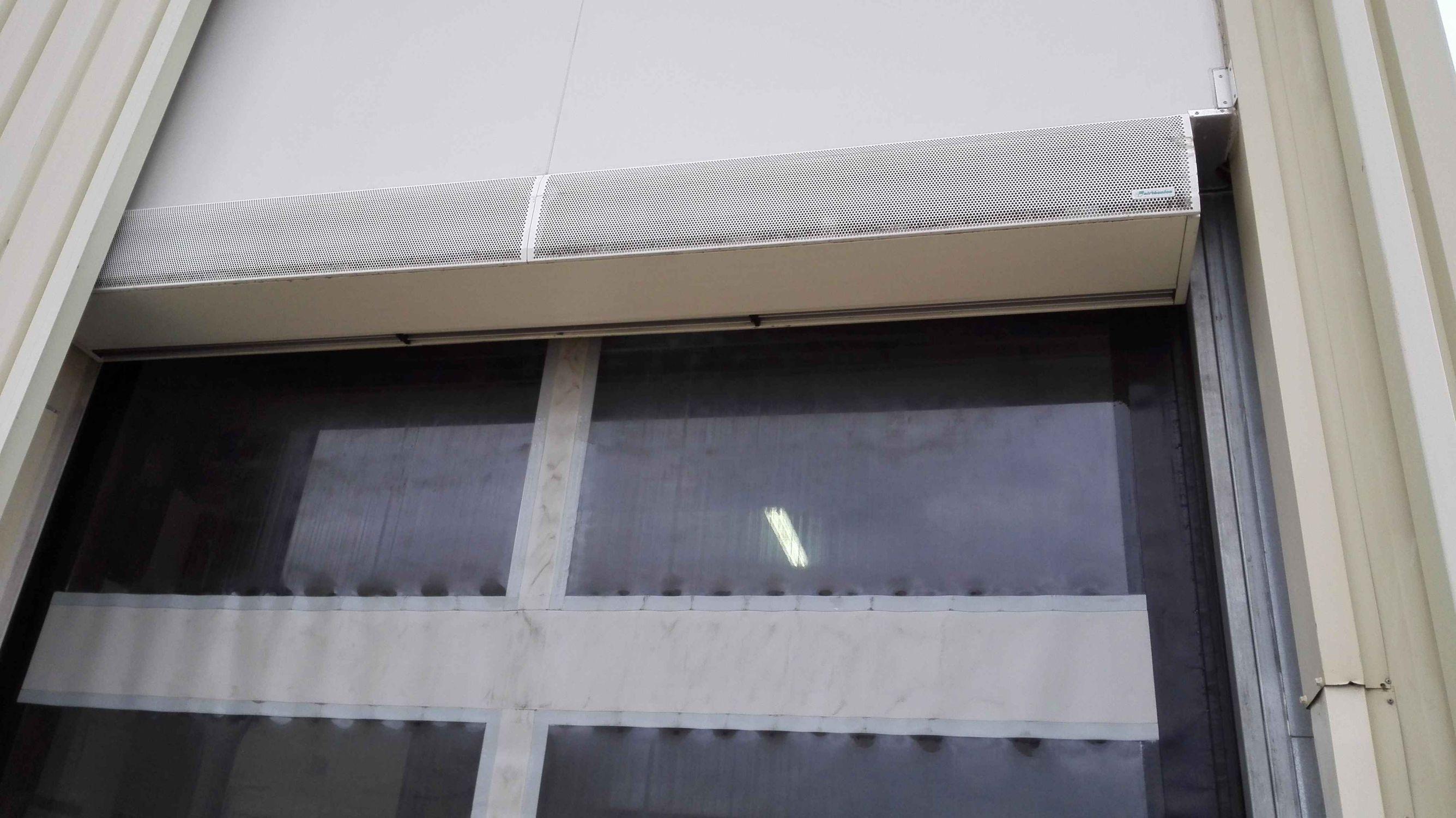 Rideau d\'air mural / professionnel / industriel / pour ...