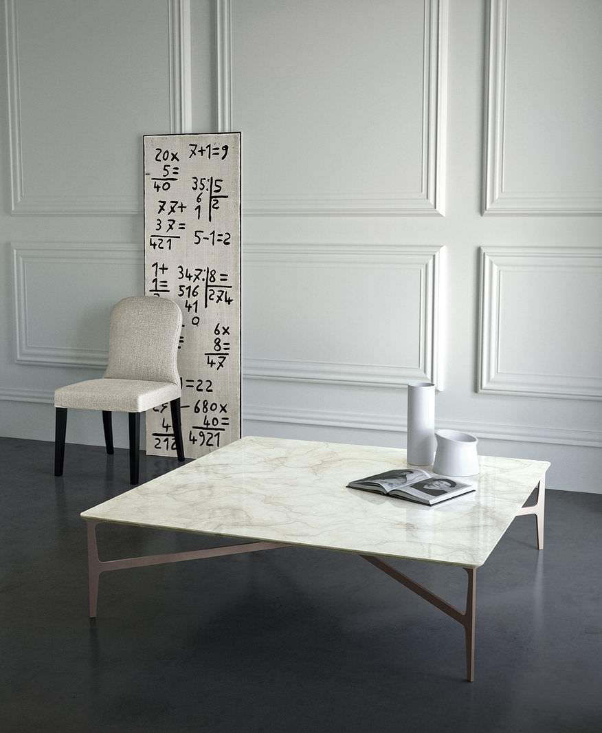 Contemporaine Roberto Basse Duprè En Table By Marbre Carrée 354RScALjq