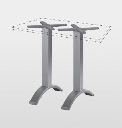 Pied de table en aluminium BG2J Gaber contemporain