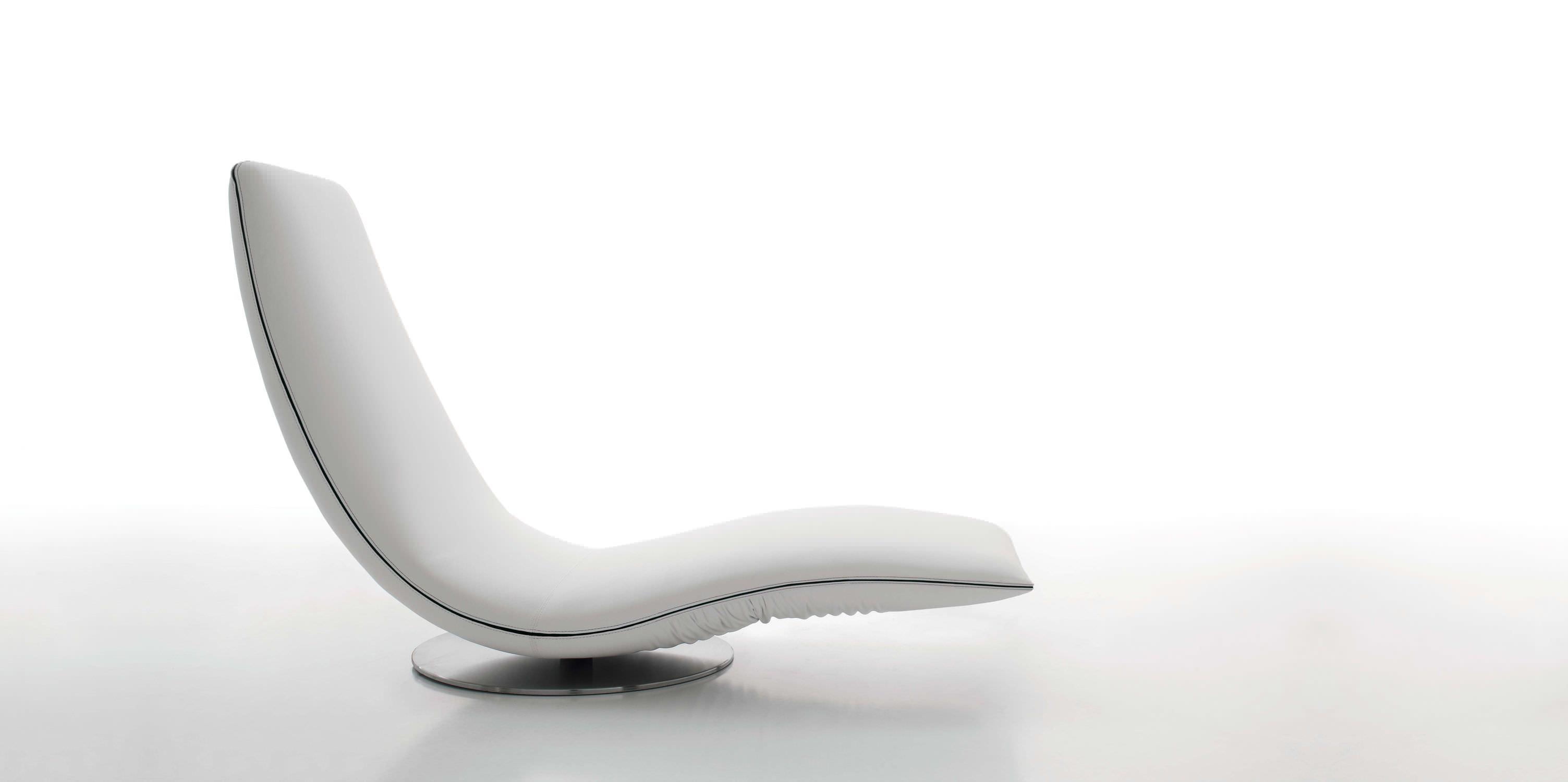 Pliante En Longue Design Chaise Tissu Cuir Original eEoQrdWCxB