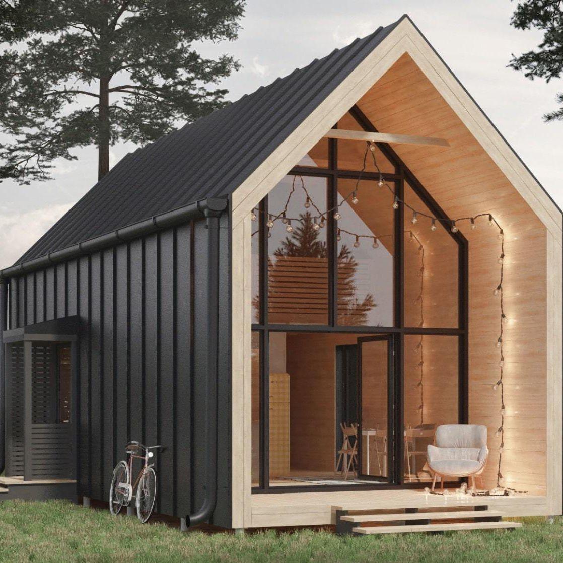 Maison Ossature Métallique Contemporaine maison type bungalow / contemporaine / ossature métallique
