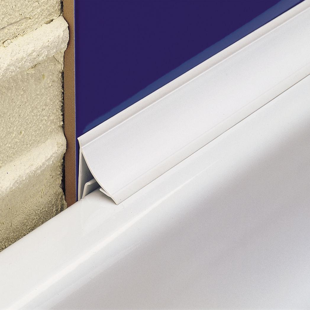 Audacieux Profilé de finition en PVC / pour angle intérieur - NOVOBAÑERA® 2a WD-31
