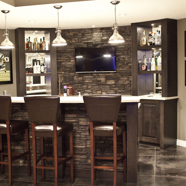 Bar Exterieur En Pierre parement de pierre / intérieur / extérieur / aspect pierre