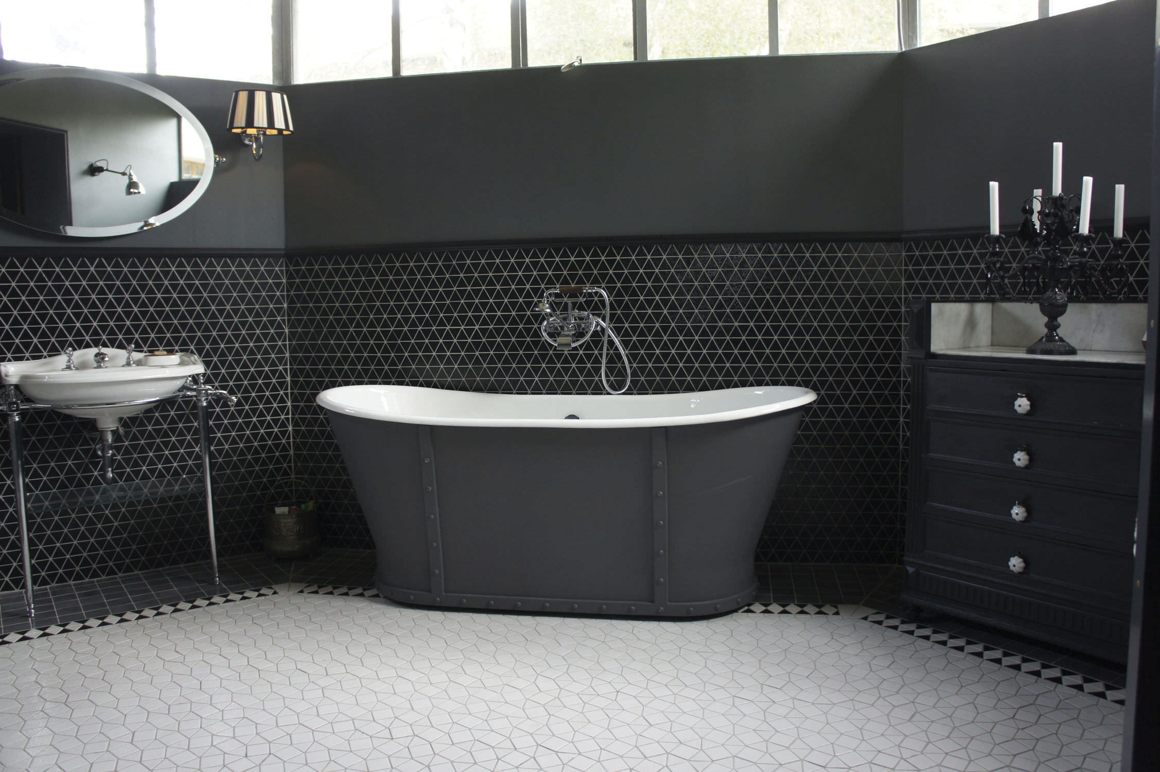 Carrelage d\'intérieur / de salle de bain / de sol / en céramique ...