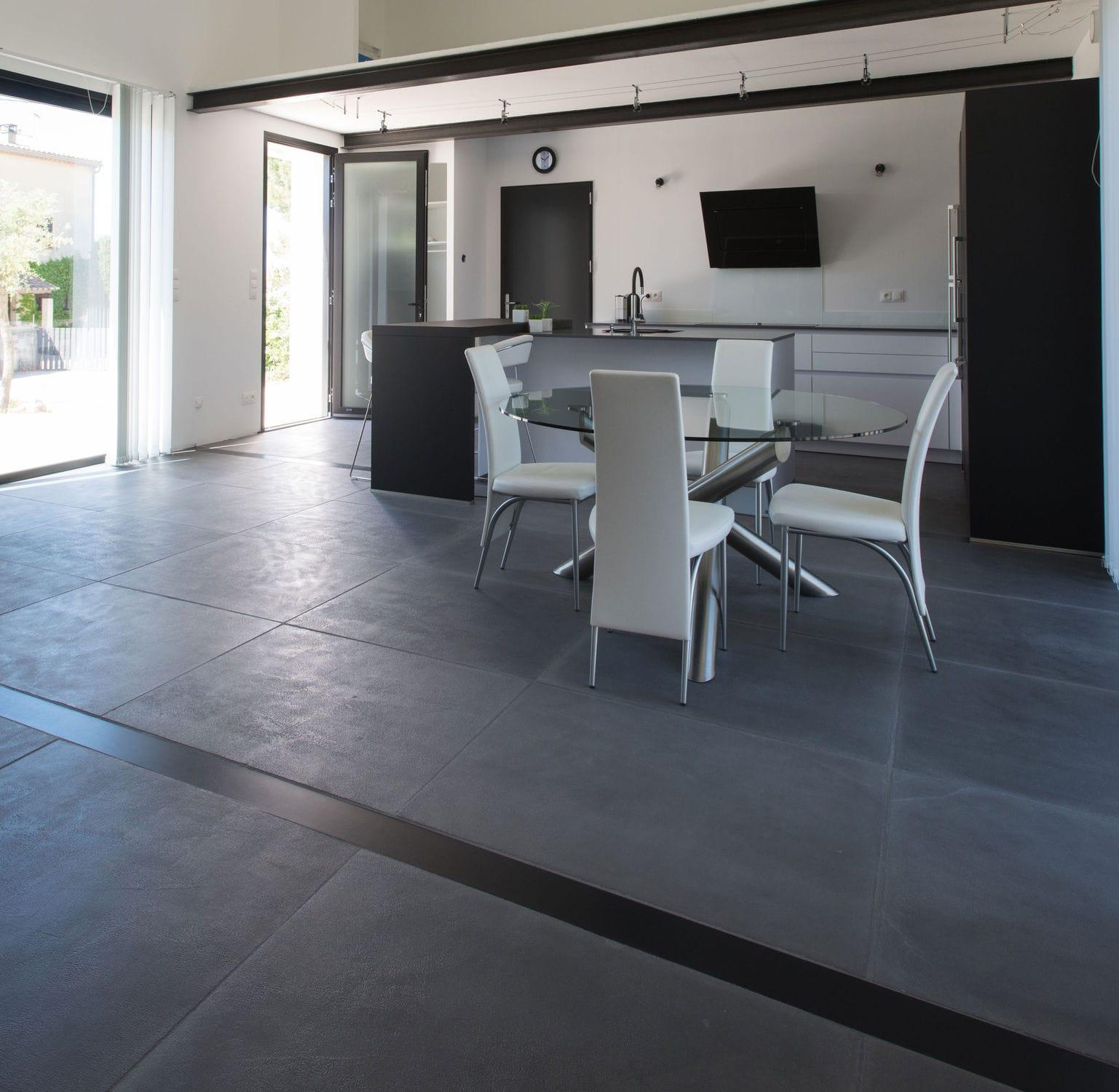Sol En Beton Interieur carrelage d'intérieur / de sol / en béton / mat