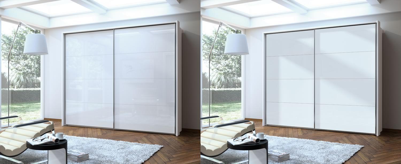 Armoire contemporaine / en bois / avec porte coulissante ...