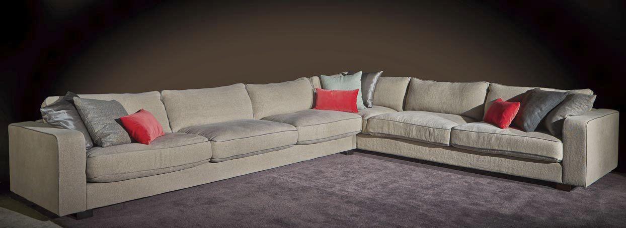 design de qualité c0501 6cbac Canapé d'angle / contemporain / en tissu / 6 places ...