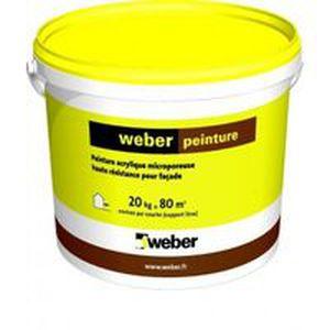 Peinture Décorative Weber Peinture Weber Industries De Façade Extérieure Acrylique