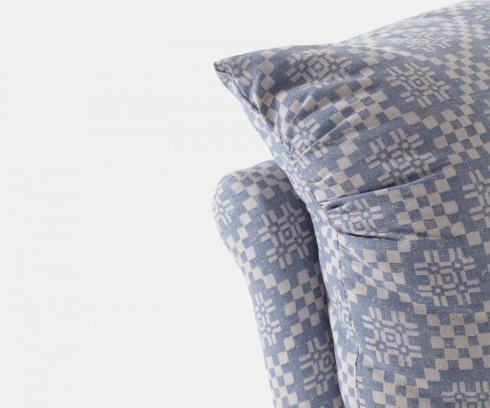 Fauteuil classique CUSHION William Yeoward en tissu