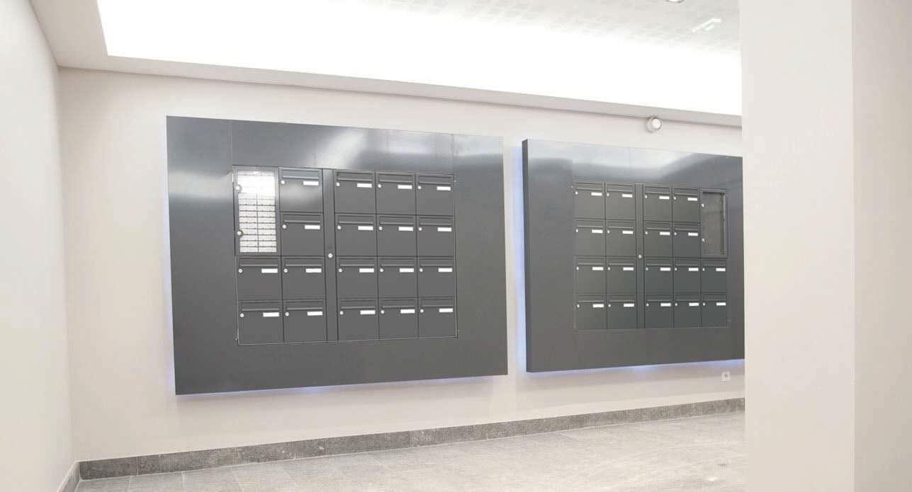 Extraordinaire Boîte aux lettres murale / collective - SEIZ9ÈME - Boites aux LX-93