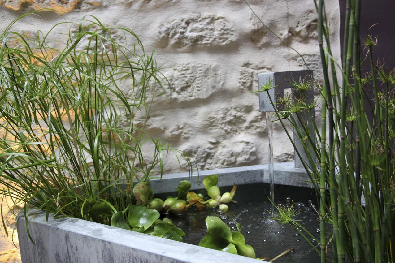Fontaine de jardin / d\'intérieur / en zinc - by Olivier ...