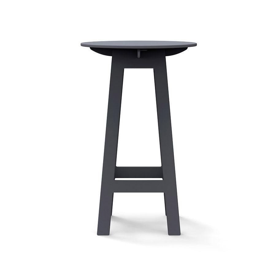 table mange-debout contemporaine / en polyéthylène haute densité PEHD /  ronde / de jardin