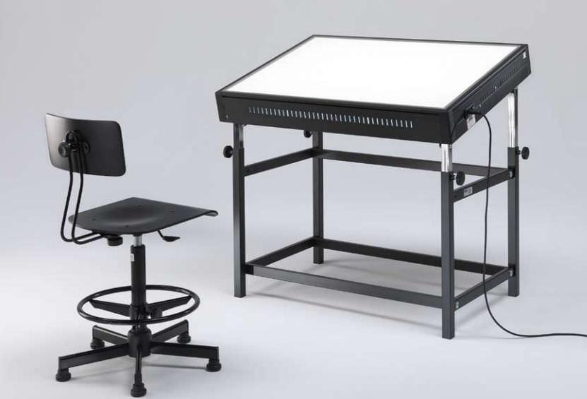 Table A Dessin En Metal Grapholux Emme Italia Rectangulaire