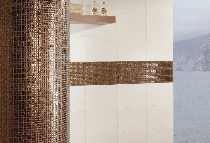 Mosaïque d\'intérieur / de salle de bain / murale / en ...