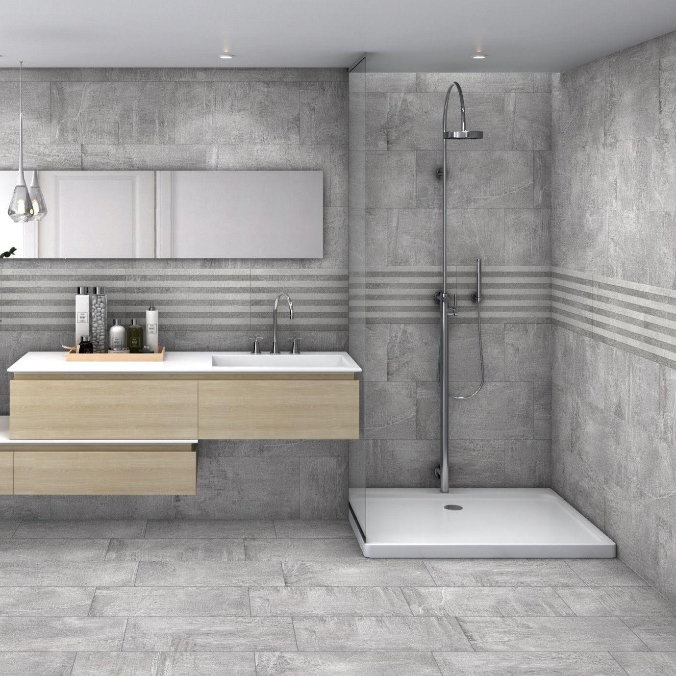 Salle De Bain Motif carrelage de salle de bain / mural / en grès cérame / à