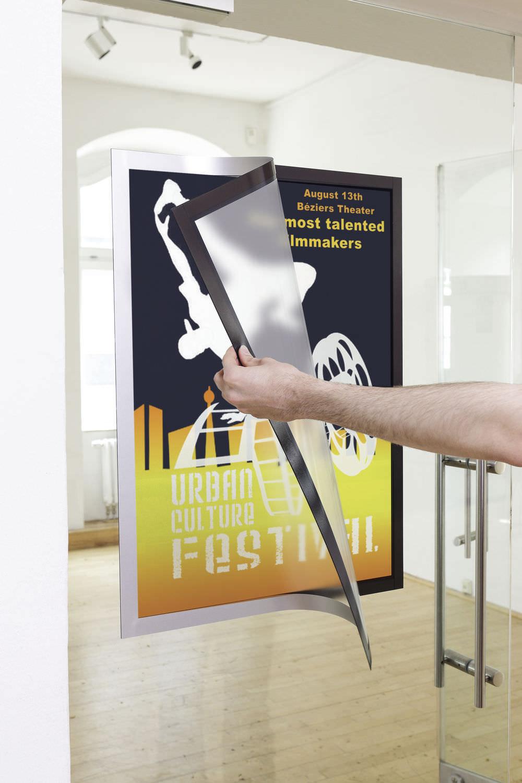 Tableau D Affichage Vitré panneau d'affichage mural / d'intérieur / adhésif / en verre