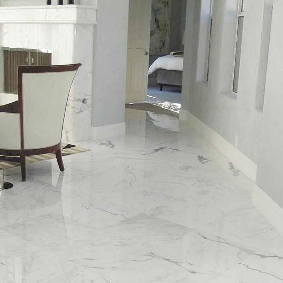 Carrelage d\'intérieur / de sol / en marbre / rectangulaire - CARRARE ...