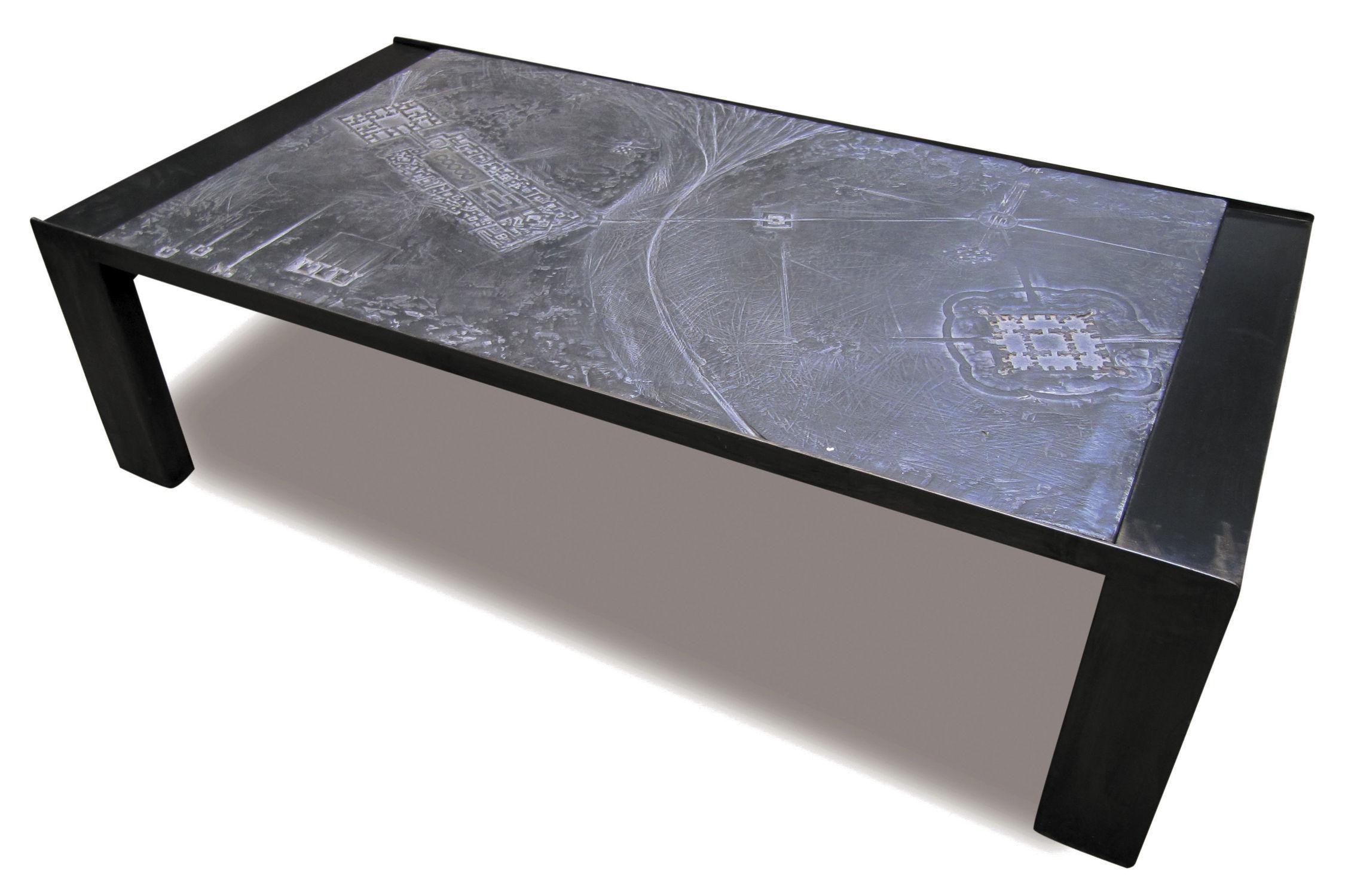 meilleure sélection 8f418 3905a Table basse contemporaine / en métal / en pierre ...
