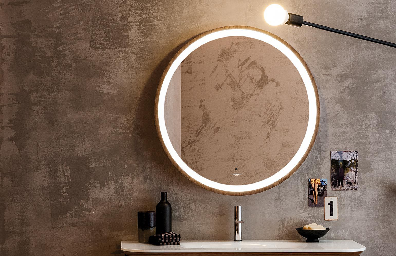 Miroir Salle De Bain Lumineux Rond  Bright Shadow Online