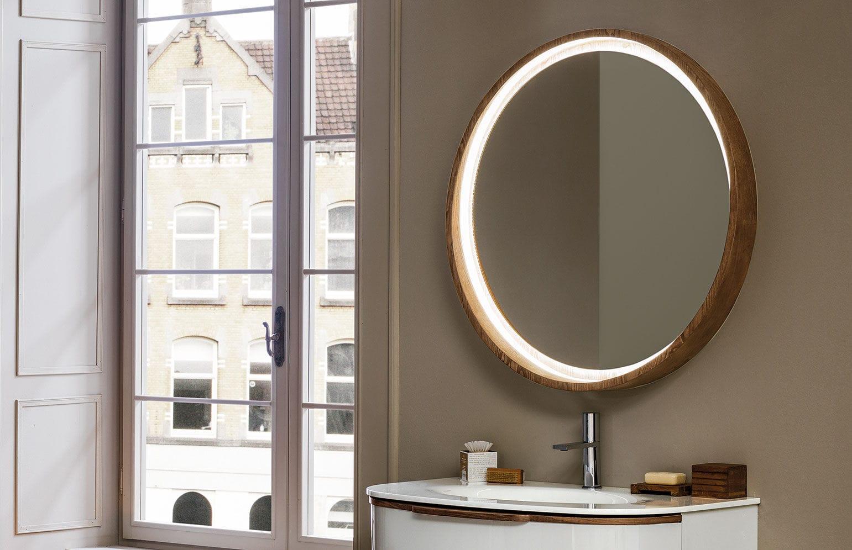Miroir de salle de bain mural - INCANTO - ARTELINEA - lumineux
