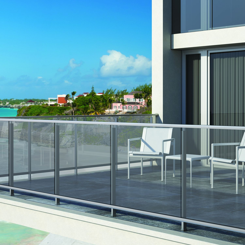 Rampe D Escalier Traduction Anglais garde-corps en aluminium / à barreaux / d'extérieur / pour