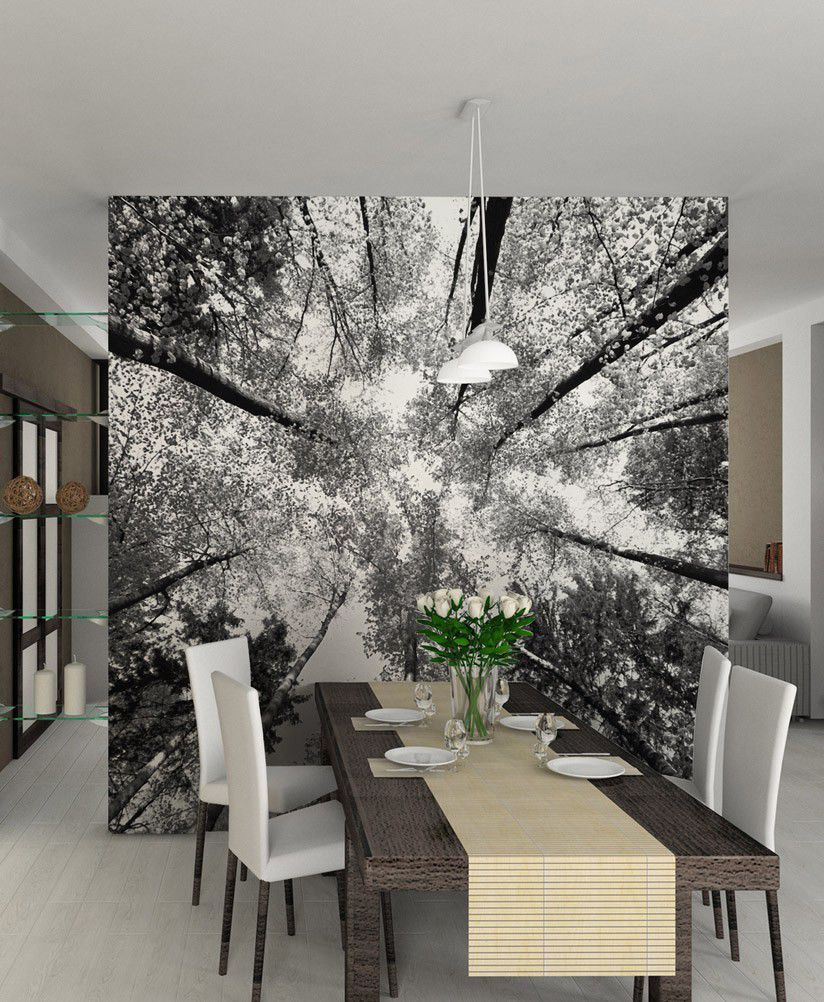 Papier Peint Motif Nature papier peint contemporain / panoramique / à motif nature