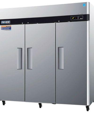 Réfrigérateur professionnel / armoire / à 3 portes / en inox ...