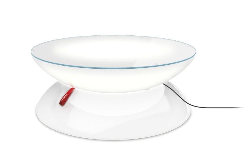Table Basse Design Original En Plastique Ronde De Jardin
