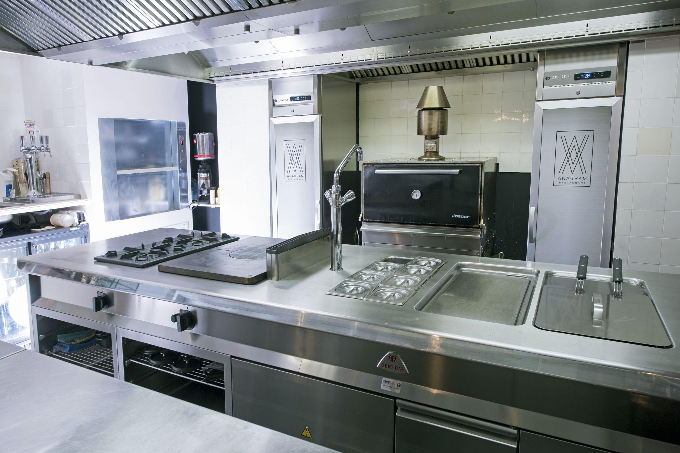 Cuisine Professionnelle En Inox S900 Berto S S P A Modulaire