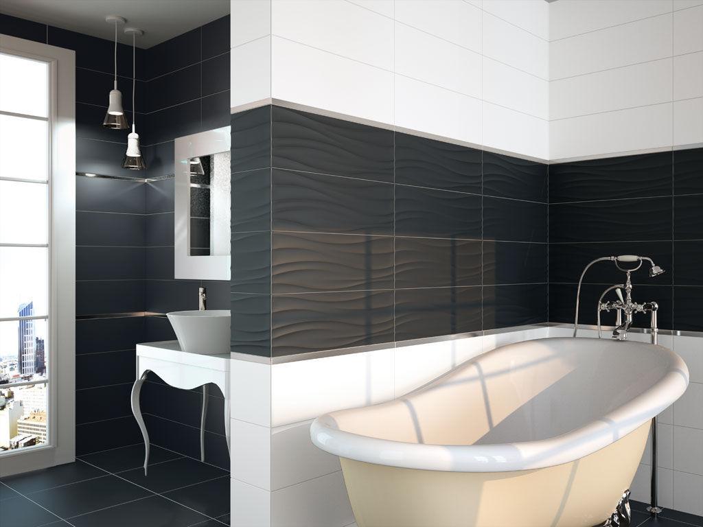Carrelage Salle De Bain Noir Brillant carrelage de salle de bain / de sol / en céramique / mat