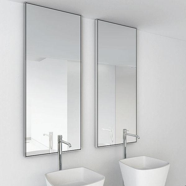 Miroir de salle de bain mural / contemporain / rectangulaire ...