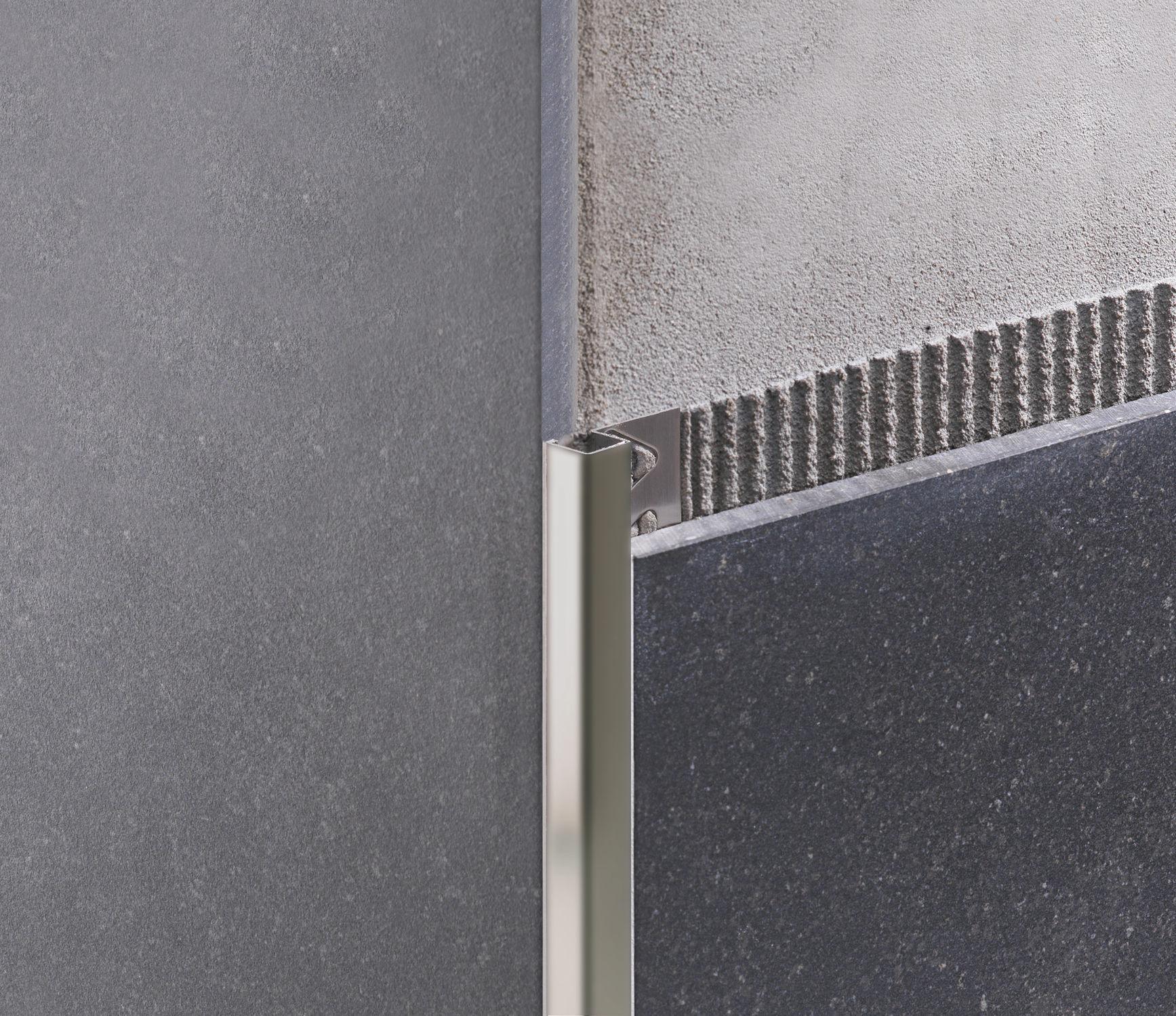 Coller Corniere Alu Sur Carrelage Exterieur profilé de finition en aluminium / pour carrelage