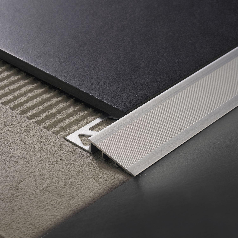 Coller Corniere Alu Sur Carrelage Exterieur profilé de finition en aluminium / pour carrelage - ramptec