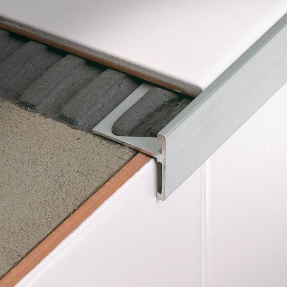 Profilé de finition en aluminium - TRIMTEC SR - PROFILITEC - pour carrelage